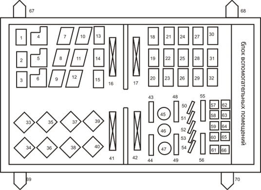 План механического цеха