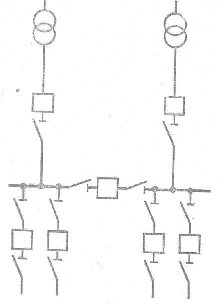 Рис. 1.2.4 - Схема РУ 6-10 кВ