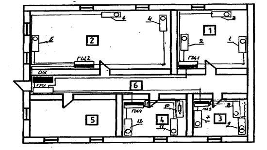 Рисунок 6.1 – План БТОР на