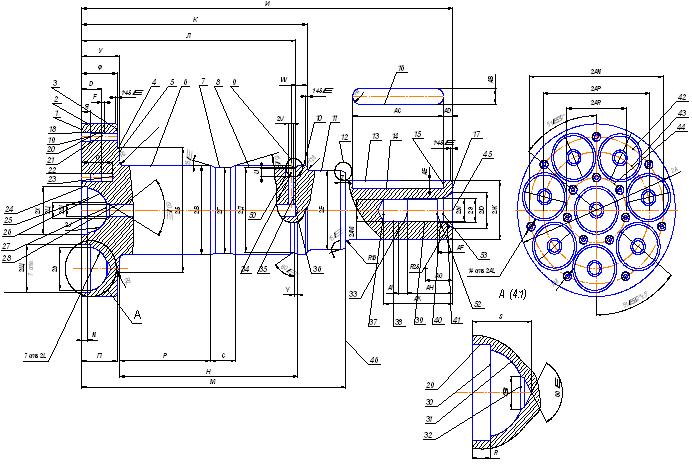 Схема кодирования поверхностей