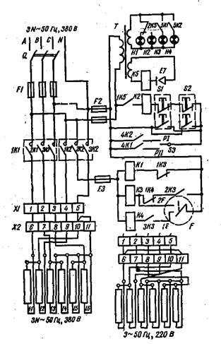 схема котла КПЭ-100.